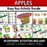Apples Theme Task Box Activity Bundle