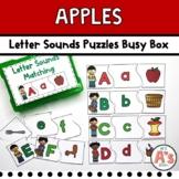 Apples Theme Task Box | Beginning Sounds Activity