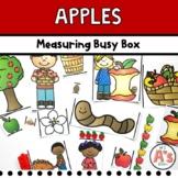 Apples Theme Task Box | Nonstandard Measurement Activity