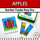 Apples Theme Task Box | Number Puzzles Activity