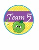 Apple Faces Apples Team & Table Circle Signs - EDITABLE