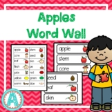 Apples Theme Word Cards