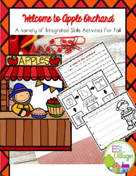 Apple of my Eye {A Variety of Integrated-Skills Activities for Fall}