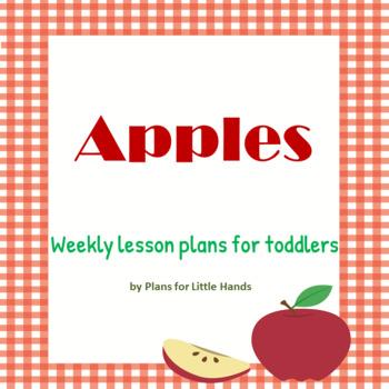 Apples Toddler Lesson Plan
