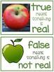 Apples - True or False