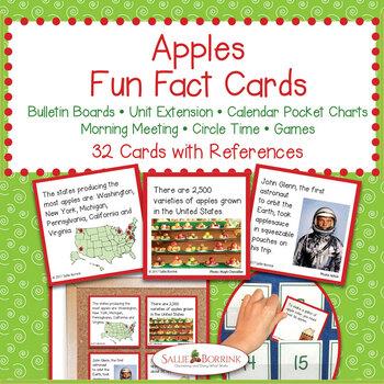 Apples Unit BUNDLE for Kindergarten and First Grade