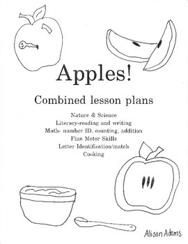 Apples ! Unit Lessons