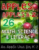 Apples Unit {Math, Literacy, & Science K/1st/2nd}