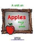 Apples Unit for PreK - 1st Grade