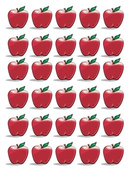 Apples Up on Top - Math/Lit (Freebie)