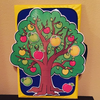 Apples WHAT DO YOU SEE Early Reader Literacy Circle