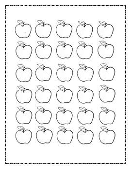 Apples Worksheet