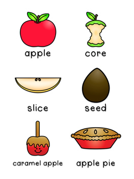 Apples  - Write the Room Writing Prompts {Print on Cardstock or Post It Notes}