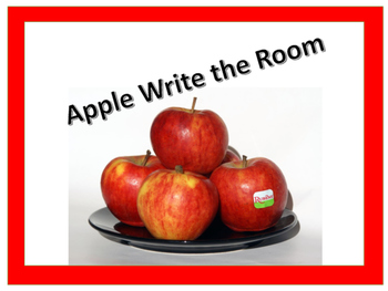 Apples ,  Write the room