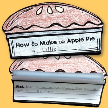 How to Writing Craft: How to Make an Apple Pie