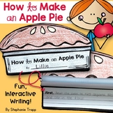 How to Writing Craftivity: How to Make an Apple Pie