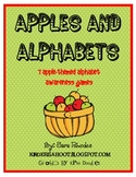 Apples and Alphabets {7 apple-themed alphabet awareness ac