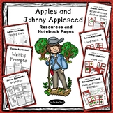 Apples and Johnny Appleseed Unit Study Resources and Noteb