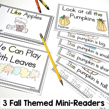 Pumpkins, Apples and Leaves - Fall Activities