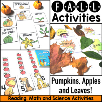 Apples and Leaves and Pumpkins OH MY!  Tons of Fun Fall Ac