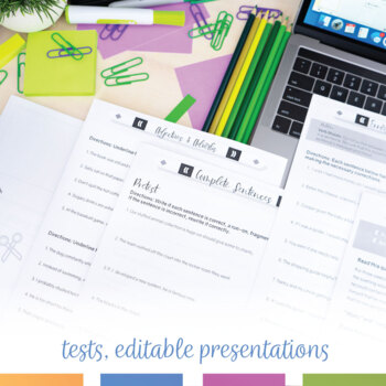 Grammar Errors Bundle: Common Writing Problems of Secondary Students