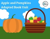 Apples and Pumpkin Adapted Book Unit