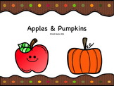 Apples and Pumpkins-PRINT AND GO