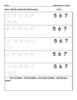 Apples and Pumpkins Common Core Fall Math Pack; 28 Worksheets