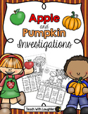 Apples and Pumpkins Flip Book Investigations
