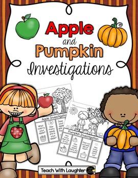 Apples and Pumpkins Flip Book Investigations