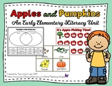 Fall Apples and Pumpkins Literacy Unit