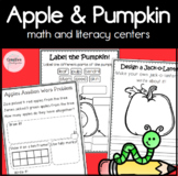 Apples and Pumpkins: Math, Science and Literacy Activities for Kindergarten