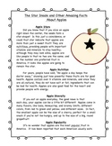 Apples and Pumpkins Non-Fiction Articles and Questions