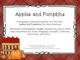 Apples and Pumpkins - Speech and Language Activities (Book Companion)