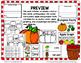 Apples and Pumpkins for Kindergarten