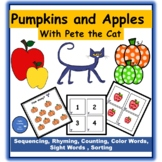 Apples and Pumpkins with Pete - Language Arts & Math Activities