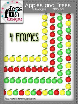 Apples and Tree Graphics