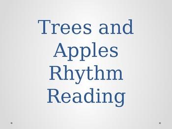 Apples and Trees Rhythm Reading Prep