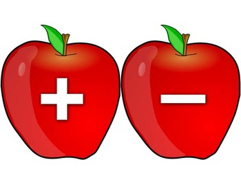 Apples and Worms - Math - an equation solving activity