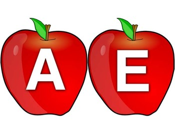 Apples and Worms - a reading and spelling, word building activity
