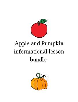 Apples and pumpkins bundles