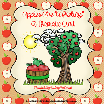 "Apples are A ""Peeling"": A Thematic Unit Grades 1-3"
