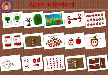 Apples everywhere!