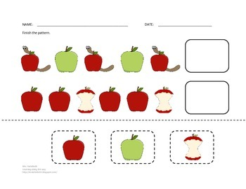 Apples for Preschool Learning