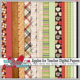 Apples for Teacher Digital Papers
