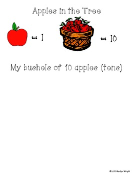 Apples in the Tree: A Place Value Game {freebie}