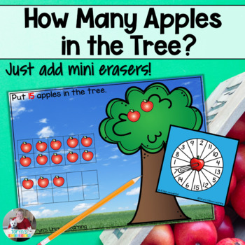 Apples in the Tree- Counting From 1-20