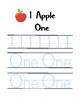 Apples math and writing pack
