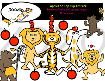 Apples on Top Clipart Pack