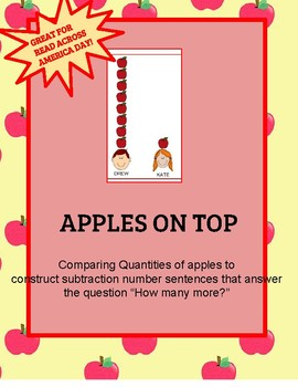 Apples on Top Comparing Quantities Dr. Seuss- Read Across America Math Activity